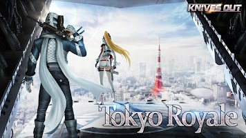 Screenshot 1: Knives Out-Tokyo Royale