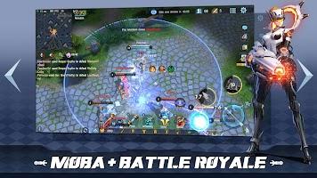 Screenshot 1: Survival Heroes - MOBA Battle Royale