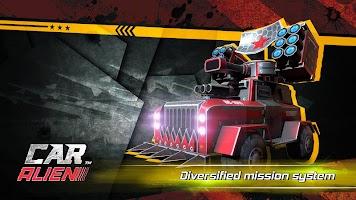 Screenshot 1: Car Alien - 3vs3 Battle