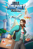 Screenshot 1: Idle Airport Tycoon