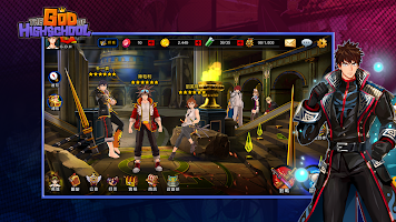 Screenshot 4: G.O.H - 高校之神