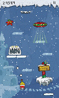 Screenshot 2: Doodle Jump Christmas Special