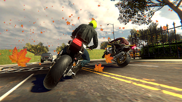 Screenshot 2: Moto Street Racers