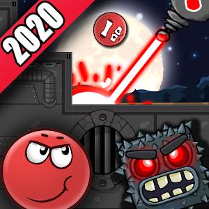 Icon: Red Hero 4:Bounce Ball Adventure