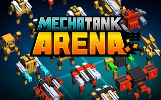 Screenshot 1: Mecha Tank Arena