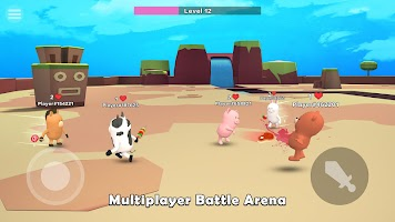 Screenshot 1: Food.io - io games online & offline battle royale