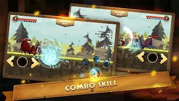 Screenshot 3: Guardian Knight Z: legend of fighting games.