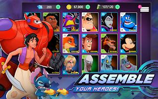Screenshot 2: 迪士尼英雄 戰鬥模式