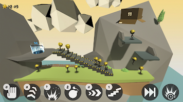 Screenshot 1: Sticklings Deluxe