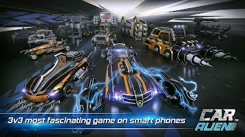 Screenshot 2: Car Alien - 3vs3 Battle