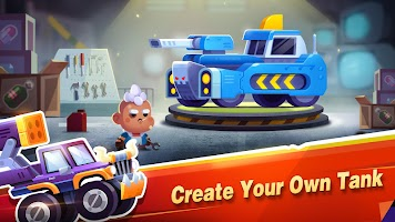 Screenshot 2: Super Tank Stars - Tank Battleground, Tank Shooter