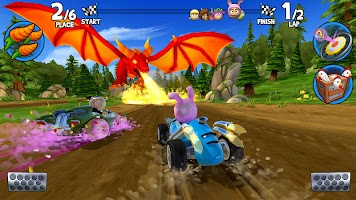 Screenshot 1: Beach Buggy Racing 2
