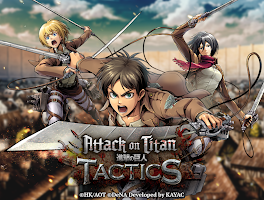 Screenshot 1: Attack on Titan TACTICS | Global(English/Japanese)