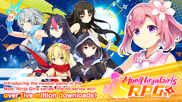 Screenshot 1: Moe! Ninja Girls RPG: SHINOBI