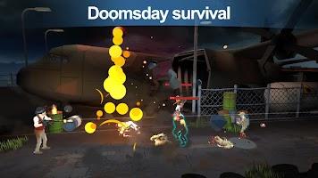 Screenshot 1: Zombie Shooter-Walking World