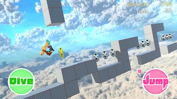 Screenshot 1: Unity-Chan Dash!