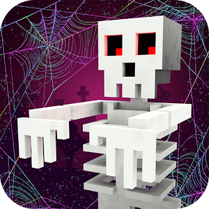 Icon: Scary Theme Park Craft: Spooky Horror Zombie Games