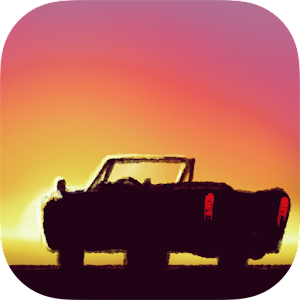 Icon: Sunset Road