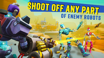 Screenshot 3: Blast Bots - Blast your enemies in PvP shooter!