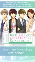 Screenshot 1: Love story of share-house English version