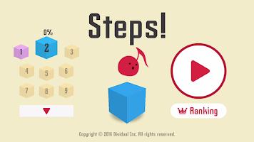 Screenshot 1: Steps! - ¡Brutalmente difícil!