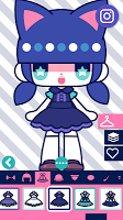 Screenshot 2: CustomTiyoko -Dress Up Game-