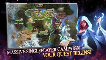 Screenshot 1: Might & Magic Heroes: Era of Chaos