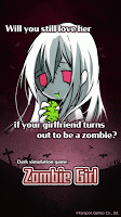 Screenshot 1: ZombieGirl-Zombie growing game (Global)