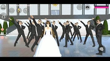 Screenshot 2: 櫻花學校模擬器