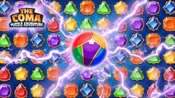 Screenshot 2: 더 코마: 쥬얼 어드벤처 매치 3 퍼즐