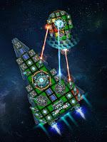 Screenshot 3: 太空競技場:建造與戰鬥