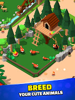 Screenshot 3: Idle Zoo Tycoon 3D - Animal Park Game