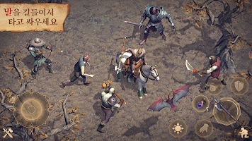 Screenshot 4: Grim Soul: Dark Fantasy Survival
