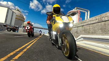 Screenshot 3: Moto Street Racers