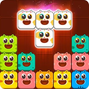 Icon: Block Crush™ - Cute Kitty Puzzle Game
