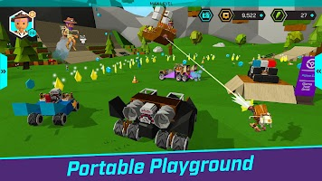 Screenshot 2: QUIRK - Craft, Build & Play