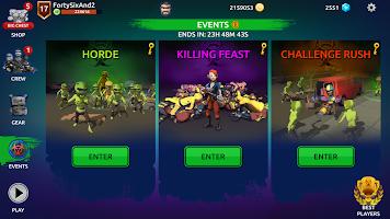 Screenshot 3: Zombie Blast Crew