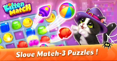 Screenshot 2: Kitten Match