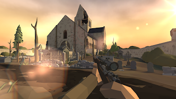 Screenshot 1: 多角型世界大戰:WW2射手