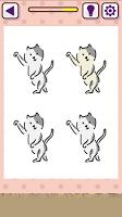 Screenshot 2: 貓咪找不同