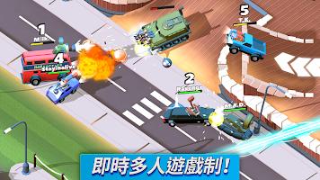 Screenshot 1: 瘋狂撞車王 (Crash of Cars)