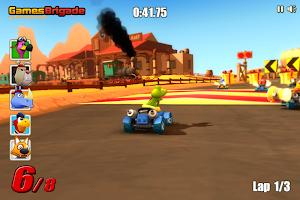 Screenshot 1: Go Kart Go! Ultra!