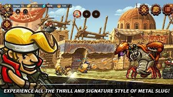 Screenshot 1: Metal Slug Infinity : Idle Game | Global