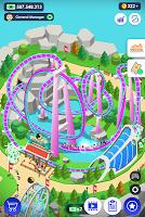Screenshot 1: Idle Theme Park Tycoon - Recreation Game