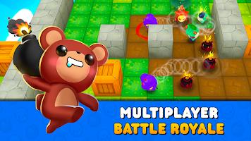 Screenshot 1: Bombergrounds: Battle Royale
