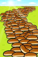 Screenshot 2: 集結吧!圓麵包