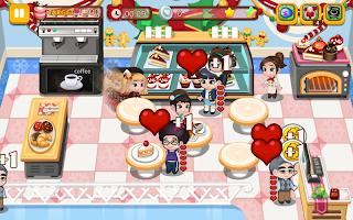 Screenshot 1: 蛋糕店:甜蜜旅程