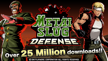 Screenshot 1: METAL SLUG DEFENSE
