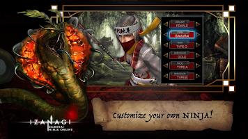 Screenshot 1: RPG IZANAGI ONLINE MMORPG
