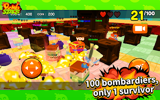 Screenshot 1: BombSTARS